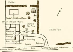 stowford-lodge-map