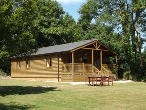 Log cabin - Stowford Holiday Cottages